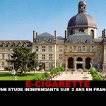 E-CIG: An independent study on 2 years in France.