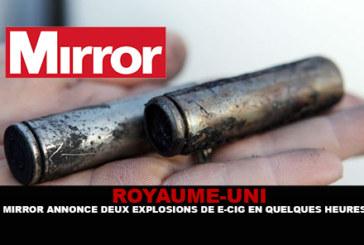 英国:镜子在几个小时内宣布两次爆炸。