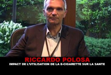 R.POLOSA : Impact de l'utilisation de la e-cigarette sur la santé.