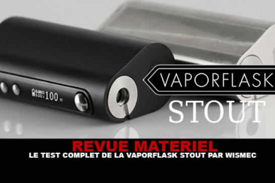 REVUE : Le test complet de la Vaporflask Stout (Wismec)
