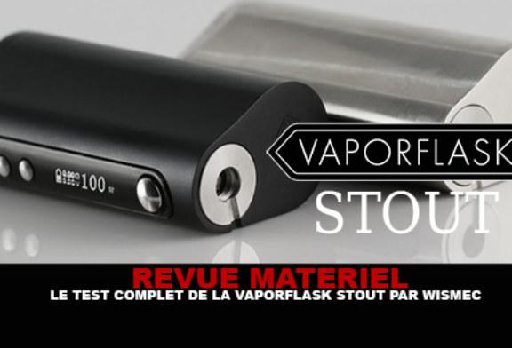 סקירה: המבחן המלא של Vaporflask Stout (Wismec)