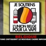 BELGIQUE : 2 associations critiquent le nouveau cadre imposé a la e-cigarette.