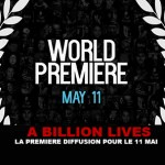 A BILLION LIVES: The first broadcast for the 11 May!