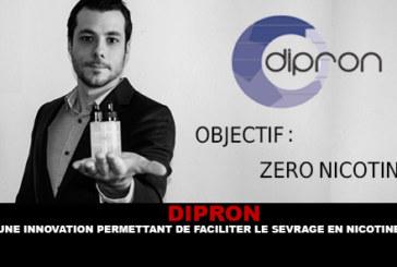 DIPRON: un'innovazione per facilitare il ritiro della nicotina.
