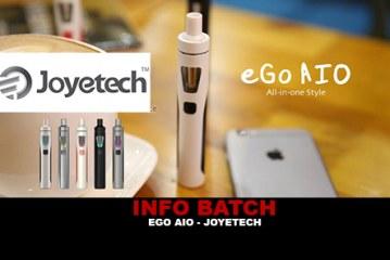 INFO BATCH : Ego Aio 1500 mAh (Joyetech)