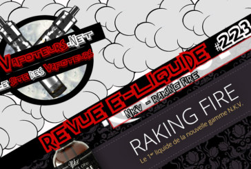 E-Liquid Review #223 - NKV - RAKING FIRE