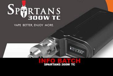 INFORMAZIONI SUL BATCH: Box Spartans 300w Tc