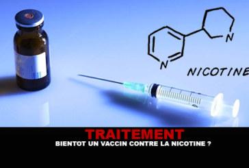 TRAITEMENT : Bientôt un vaccin contre la nicotine ?