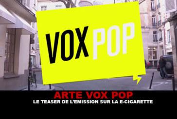 ARTE VOX POP: The teaser of the show on the e-cigarette