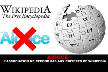 עזרה: העמותה אינה עומדת בקריטריונים של ויקיפדיה.