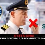 ארצות הברית: לקראת איסור מוחלט על סיגריות אלקטרוניות במטוסים