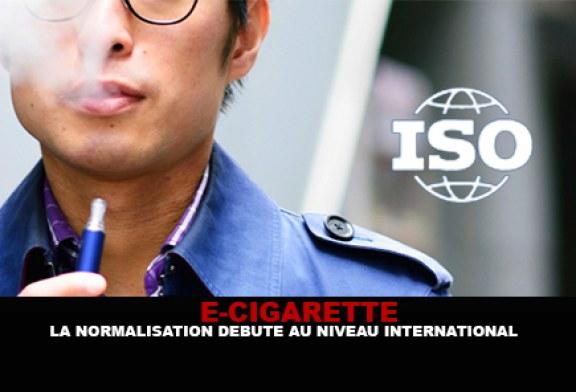 E-CIGARETTE : La normalisation débute au niveau international !