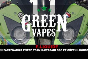 E-LIQUIDE: שותפות בין צוות Kawasaki SRC לבין גרין Liquides