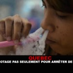 QUEBEC: Vaping not only to stop smoking.