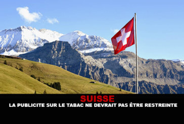 SWITZERLAND: Tobacco advertising should not be restricted.