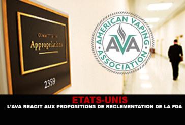 ETATS-UNIS : L'AVA réagit aux propositions de réglementation de la FDA.