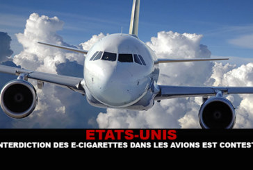 USA: The ban on e-cigarettes on planes is disputed.