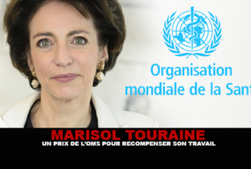 M. TOURAINE: A WHO prize for rewarding his work ...