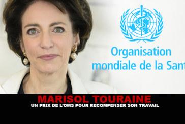 M. TOURAINE : Un prix de l'OMS pour récompenser son travail…