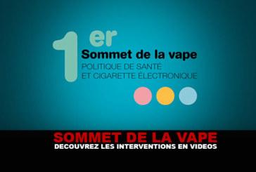 SOMMET DE LA VAPE : Découvrez les interventions en vidéos.