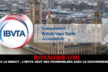 בריטניה: עם Brexit, IBVTA רוצה לדבר עם הממשלה.