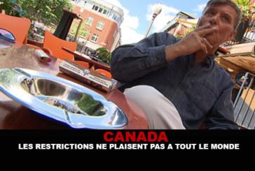 CANADA : Les restrictions ne plaisent pas à tout le monde.