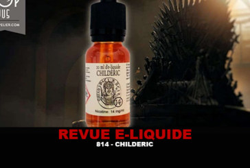 סקירה: CHILDERIC (היסטוריה של E-LQUIDS) על ידי 814