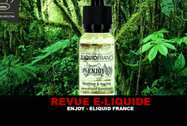 REVUE : ENJOY (GAMME PREMIUM) PAR ELIQUID FRANCE