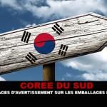 דרום קוריאה: תמונות אזהרה עבור e-cigs האריזה.