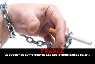 FRANCIA: budget per combattere le dipendenze da 47%