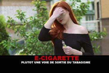 E-CIGARETTE : Plutôt une voie de sortie du tabagisme.