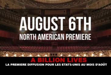 МИЛЛИОННАЯ ЖИЗНЬ: Первая трансляция для США в августе.