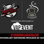 ПРЕСС-РЕЛИЗ: Vapoteurs.net / Vapelier привилегированные партнеры Vapevent