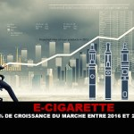 E-CIGARETTE: 24% market growth between 2016 and 2020.