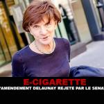 E-CIGARETTE: ¡Enmienda de Delaunay rechazada por el Senado!