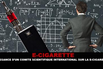 E-CIGARETTE: Geburt eines internationalen wissenschaftlichen Ausschusses für die E-Zigarette.