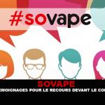 SOVAPE : Un appel à témoignages pour le recours devant le Conseil d'état.