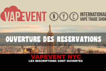 VAPEVENT NYC: Registrations are open!