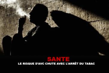 SANTE : Le risque d'AVC chute avec l'arrêt du tabac.