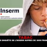 טבקו: סקר של INSERM ב 6000 אנגלית