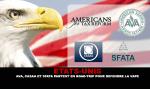 ארצות הברית: AVA, CASAA ו SFATA לצאת לטיול הכביש כדי להגן על vape!
