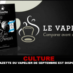 CULTURE : La Gazette du Vapelier de Septembre est disponible !