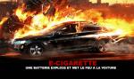 E-CIGARETTE : Une batterie explose et met le feu à la voiture...