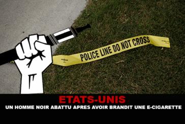 ETATS-UNIS : Un homme noir abattu après avoir brandit une e-cigarette