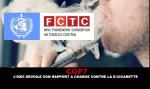 """COP 7: מי חושף את דו""""ח האישום נגד סיגריות אלקטרוניות."""