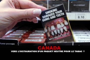 CANADA : Vers l'instauration d'un paquet neutre pour le tabac ?