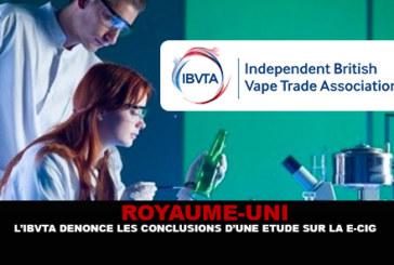 בריטניה: IBVTA מגנה את הממצאים של מחקר סיגריות אלקטרוניות