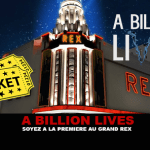 A BILLION LIVES: Be first at the Grand Rex!
