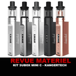 Revue: SUBOX MINI C K על ידי KANGERTECH