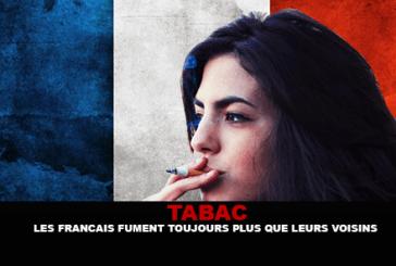 TABAC : Les Français fument toujours plus que leurs voisins.